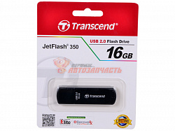 Флешка Transcend 16Gb Jet Flash 350 черный